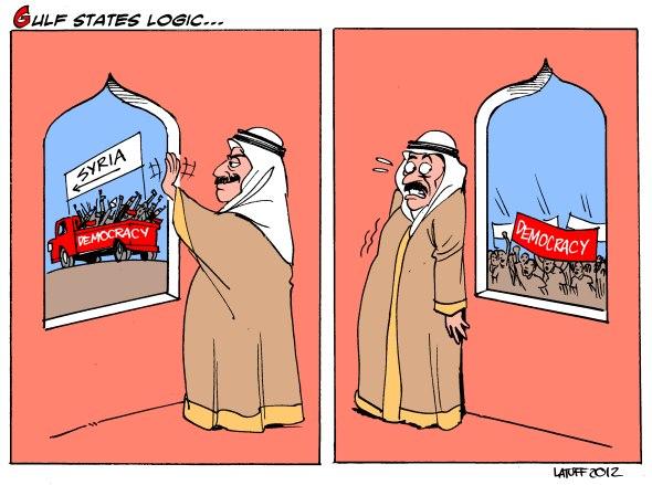 il concetto di democrazia secondo gli emiri del Golfo
