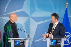 Visit to NATO by President Hamid Karzai of the Islamic Republic of Afghanistan