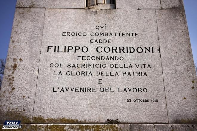 Trincea delle Frasche, San Martino del Carso (GO)